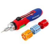 WORKPRO 24 in 1 Multi-bit Ratcheting Screwdriver Set with Auto-loading Bits Chamber Repair Tools