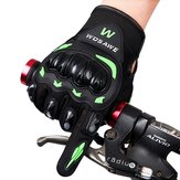 WOSAWE Off Road Vehicle Motorcycle Riding Gloves Full finger With Hard Shell Anti Fall Gloves