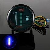 Medidor de Nivel de Combustible de la Motocicleta de Automóviles de Aleación de Aluminio LED