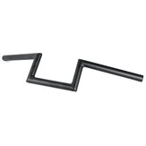 25mm Motorcycle Drag Z-Bar Pullback Handlebar For Touring/Suzuki/Honda CG