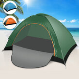 1-2 People Camping Tent Breathable Ventilation Windproof UV-proof Sunshade Canopy Beach Awing Shelter
