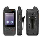 UNIWA F60 Zello POC Walkie Talkie 4G FDD / TDD-LTE Red IP68 Impermeable 5300mAh 2.8 Inch Android 9.0 Pie GPS Cuatro Nucleos 1GB + 8GB Con NFC SOS Dual SIM Dual Standby Feature Phone