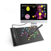 VEIKK S640 Graphics Drawing Tablet 6x4 Inch Tablet With Battery-free Pen Digital Pen 8192 Levels