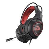 Wired Gaming Kopfhörer Deep Bass Stereo Sound Ohrhörer Headset mit Mikrofon für Telefon PC Laptop