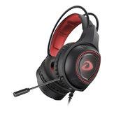 Bedrade gaming hoofdtelefoon diepe bas stereo geluid oordopjes headset met microfoon voor telefoon pc laptop