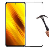 PINWUYO 9H Anti-Explosion Anti-Fingerprint Full Coverage Tempered Glass Screen Protector for POCO X3 NFC