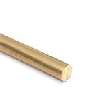 2pcs 150mm x 5mm Brass Rod Bar Hardware Solid Round Rods