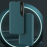 Bakeey Flip magnétique Smart Sleep Window View Étui de protection en cuir PU antichoc pour Samsung Galaxy S20 / Galaxy S20 5G