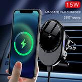 15W Draadloos opladen Magnetische houder voor mobiele telefoon Auto-luchtuitlaat voor iPhone 12-serie