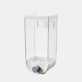 Kitchen Wall-Mounted Storage Tank Cereal Rice Bean Sealed Can Oatmeal Dispenser Wholesale