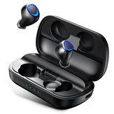 [Bluetooth 5.0] ANOMOIBUDS TWSワイヤレスイヤホン10W QIワイヤレス充電2600mAH DSPノイズキャンセリングIPX7防水バイラテラルコールイヤホン