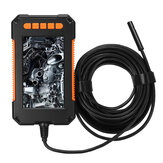 P40 Industrial Borescope Camera 1080P HD 4.3inch LCD Screen Borescope IP67 Waterproof Borescope 8mm 8 LED Lights 2600mAh Battery