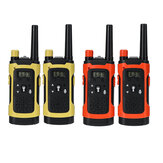 2PCS Portable Outdoor HD Chiama Wireless Children Walkie Talkie Intercom Electronic Toys con luce a led