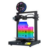 LOTMAXX SC-10 DIY 3D Yazıcı Kit 235 * 235 * 280mm Baskı Boyutu Desteği Filament Detecticon / Büyük LCD Dispaly ile Devam Et Baskı / Seçim için 7 Dil