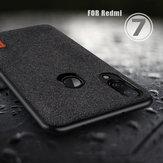NướngLuxuryFabricSpliceSoftỐp lưng silicon chống sốc cho Xiaomi Redmi 7/Redmi Y3