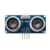 3 قطع HC-SR04 وحدة بالموجات فوق الصوتية مع RGB ضوء مسافة المستشعر تجنب العوائق المستشعر ذكي روبوت السيارة Geekcreit لـ Arduino - المنتجات التي تعمل مع لوح