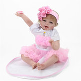 Handmade Lifelike Baby Girl Doll 22