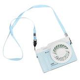 3 in 1 Ventilatore portatile per appendere la collana 3 velocità LED Ventilatore da scrivania per la scuola del Ministero degli Interni