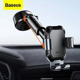 Baseus Universal 360° Rotating Gravity Linkage Auto Lock with Telescopic Arm Car Dashboard Windshield Suction Cup Mount Holder for 4.7-6.5 inch Phone