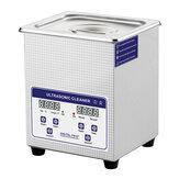 SKYMEN JP-010S Digital 2L ультразвуковой очиститель с таймером нагрева ванна 60 Вт ультразвуковой аппарат Зубной часы Очки монеты Инструмент часть