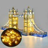 DIY LED Light Lighting Kit ONLY For LEGO 10214 London Tower Bridge Building Block Bricks Toy