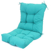 Chair Cushion Set Outdoor Seat Waterproof Single Sofa Lounger Back Chair Cushion For Home Garden Relax