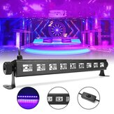 27W 385NM UV Auto Color Changing LED Stage Light para Bar Disco Party Club Christmas