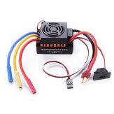60A Sin escobillas Impermeable ESC Controlador de velocidad eléctrico para 1/10 RC Coche Piezas