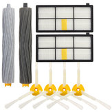 8pcs Vacuum Cleaner Accessories Kit Filters and Brushes for 800 900 Series