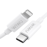 WiWU WP401 USB-C to Lightning Data Cable 3A PD Fast Charging Cord For iPhone 12 12Pro