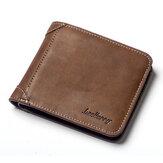 Men Vintage Short Multi-Card Slots Trifold Wallet