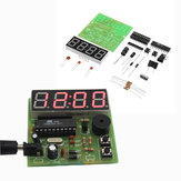 DIY Multi Function Four Bit Digital Clock MCU Clock Kit