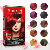 SUIMEI Professional Use Color Cream Golden Brown Red Purple Color Dye Cream Natural Permanent Hair Dye with Peroxide Gream