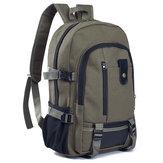 Mężczyźni Outdoor Brezentowy Backpack plecak