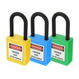 ABS Steel Lock Keyed-Alike Message Padlock Sets Plastic Security Industry Padlock