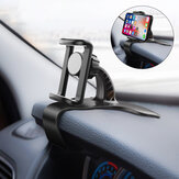 Bakeey Universal Non Slip 360 ° Rotash Dashboard Car هاتف Clip Stand GPS حامل Mount for 4.0-6.0 inch Devices for iهاتف GPS Smartphone