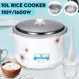 10L 22-cup 1600W 110V Automatic Rice Cooker Non-stick steam Cook Keep Warm USA