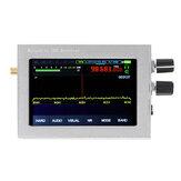 400–2 ГГц Малахитовый SDR Радио DSP SDR Приемник 3,5-дюймовый сенсорный экран AM / SSB / NFM / WFM с аналоговой модуляцией, серебристый