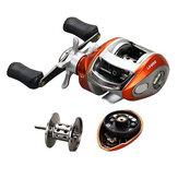 ZANLURE 6.2:1 12+1BB Carretilha de arremesso para Pesca de Aço Inoxidável Esquerda/Direita Roda de Pesca