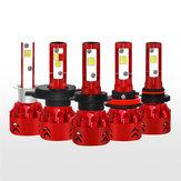 60W 9600LM السيارات LED المصابيح الأمامية لمبة مصباح الضباب H1 H4 H7 H11 9005 9006 IP68 9V-30V 6000K