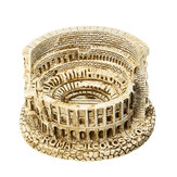 Resina fai da te Mini The Roman Colosseum Sculpture for Home Table Decorations Souvenir