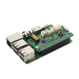 Raspberry Pi ReSpeaker Intelligent Voice Recognition 2 Microphone Array Pi0 / 3B / 3B+/4B