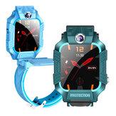 Bakeey Z8 Smart Watch 1,44 inch touchscreen LBS Positionering Tracking SOS Voor + achter Roterende dubbele camera IP67 Waterdichte kinderen Smart Watch-telefoon