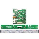Respeaker 4 Mic Array Expansion Board AC108 ADC AC101 DAC 8 Channel GPIO voor Raspberry Pi