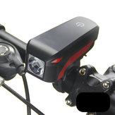 XANES XL04 T6 Bisiklet Far Elektronik Bell Siren Uyarısı Trompet USB Şarjı 140DB