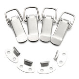 4 Unids 201 Acero Inoxidable Resorte Toggle Latch Catch Hasp Abrazadera Clip Pato Hebillas Facturadas