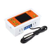 W3231 Regolatore di temperatura per incubatore Termometro Freddo / Calore digitale doppio Display con sensore NTC CA 110-220 V / CC 12 V / CC 24 V