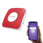 BlitzWolf® BW-IS11 Wifi Alarme de sirène intelligente sans fil Alarme en temps réel Contrôle de l'application Poussée Fonctionne avec la caméra IP Tuya / Capteur de mouvement PIR / Capteur de fenêtre de porte / Détecteur de fumée / Capteur de