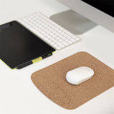 XIAOMI XIANGGE Natural Softwood Wrist Protection Mouse Pad Son of Oak Waterproof Stain and Wear Resistant Portable Carbonized Mouse Pad for All XIAOMI Laptop Mouse
