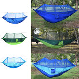 Outdoor Portable 2 People Double Hammock Camping Tent Hanging Swing Bed With Mosquito Net